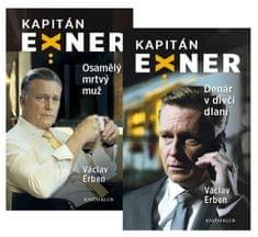 Erben Václav: Komplet Případy kapitána Exnera: Osamělý mrtvý + Denár v dívčí