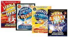 Hawkingovi Lucy a Stephen: Komplet Jirka a neprolomitelná šifra + Jirka a velký třesk + Jirkův vesmí