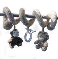 Bo Jungle pluszowa zabawka spiralna Lion & Monkey