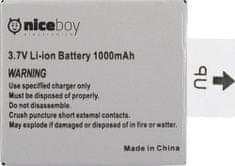Niceboy Li-ion akumulátor pro kamery VEGA 5 pop