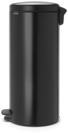 Brabantia koš za odpadke na pedal newIcon 30 l, črn