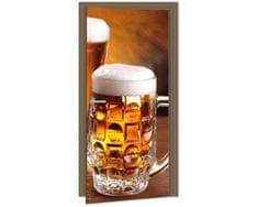 Dimex Fototapeta na dvere DL-025 Krígeľ piva 95 x 210 cm