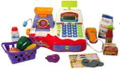 Mac Toys Zabawa w sklep - kasa + akcesoria