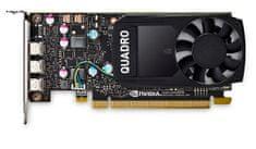 PNY grafična kartica Quadro P400, 2GB GDDR5