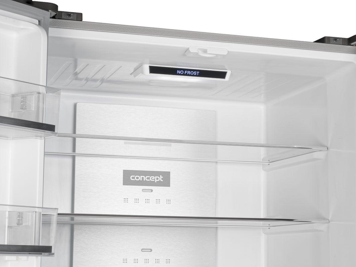 Concept LA8783wh metal cooling zadní stěna detail rychlejší chlazení