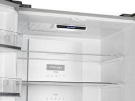 Concept LA8783bc metal cooling zadní stěna detail rychlejší chlazení