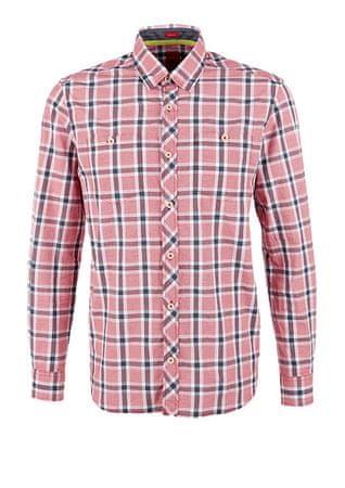 s.Oliver koszula męska M czerwony