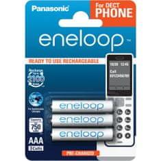 Panasonic AAA 3ks 750 mAh ENELOOP (4MCCE/3BE)