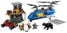 LEGO City Police 60173 üldözés a hegyekben