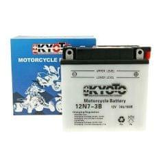 Batérie KYOTO 12V 7Ah 12N7-3B (dodávané bez kyselinové náplne)
