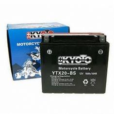 Batérie KYOTO 12V 18Ah YTX20-BS (dodávané s kyselinovú náplňou)