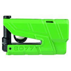 Abus zámok na kotúčovú brzdu s alarmom Granit Detecto X-Plus 8077, zelený
