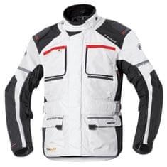 Held pánská moto bunda  CARESE 2 GORE-TEX šedá/černá, textilní