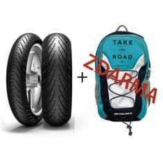 Metzeler 120/70 ZR17 (58W) + 180/55 ZR17 (73W) Roadtec 01 + batoh Deuter Roadtec