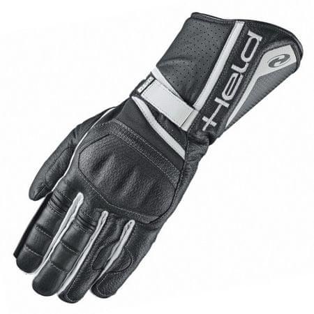 Held rukavice AKIRA EVO vel.10 černá/bílá, klokaní kůže