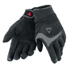 Dainese skútr rukavice DESERT POON D1 UNISEX černá/šedá, textil (pár)