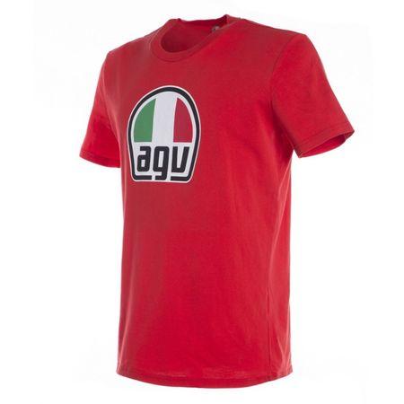 AGV pánske tričko červená