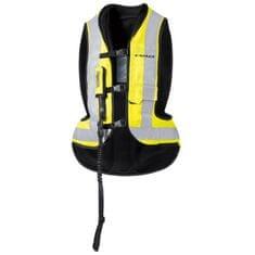 Held moto Airbag vesta  AIR VEST čierna/fluo žltá