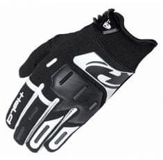 Held dětské crossové rukavice HARDTACK černá/bílá