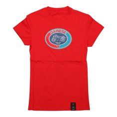 Dainese dámske tričko s krátkym rukávom MOTO 72 LADY červená