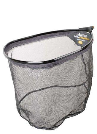 Okuma Podběráková Hlava Carbonite Net 3mm Rubber Mesh 50x40x30 cm