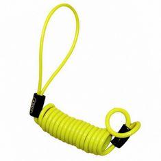 Abus memory cable ku kotoučovému zámku, žltý