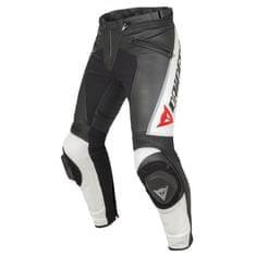 Dainese pánske kožené moto nohavice  DELTA PRO C2 čierna/biela