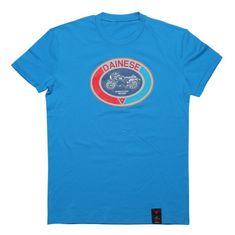 Dainese pánske tričko s krátkym rukávom MOTO 72 modrá