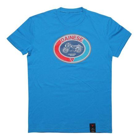 49cc14282f90 Dainese pánske tričko s krátkym rukávom MOTO 72 modrá