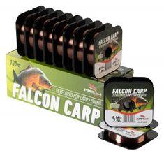 Falcon Vlasec Carp Tmavá Měď 100 m