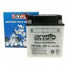 Batérie KYOTO 12V 11Ah YB10A-A2 (dodávané bez kyselinové náplne)