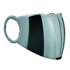 AGV plexi CITY 18-2 pro přilby FLUID, ORBYT (M-XL), zrcadlová stříbrná