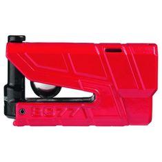 Abus zámok na kotúčovú brzdu s alarmom  Granit Detecto X-Plus 8077, červený