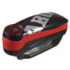 Abus zámok na kotúčovú brzdu s alarmom Detecto 7000 RS1 Pixel red