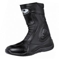Held moto boty GEAR černé, Hipora, kůže (pár)