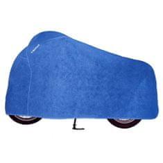 Held priedušná krycia plachta na motocykel, modrá (textil)
