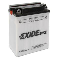 Exide batéria EB12AL-A, 12V 12Ah, za sucha nabitá s antisulfační úpravou. Náplň súčasťou balenia.