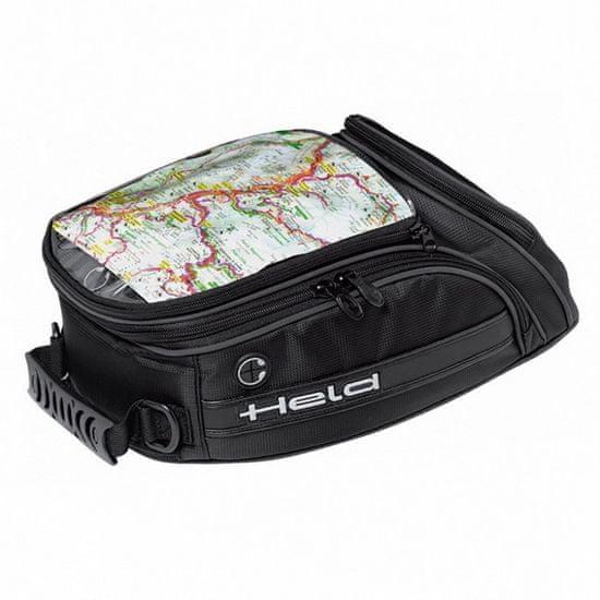 Held motocyklový Tankbag CASE-objem 6,5l, čierny, Magnetický systém