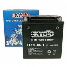 Batérie KYOTO 12V 14Ah YTX16-BS-1 (dodávané s kyselinovú náplňou)