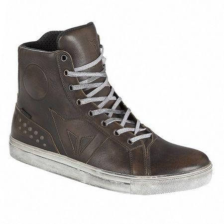 Dainese kotníkové boty STREET ROCKER D-WP vel.46 hnědá, kůže (pár)