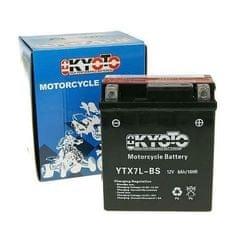 Batérie KYOTO 12V 6Ah YTX7L-BS (dodávané s kyselinovú náplňou)