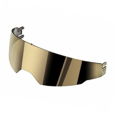 AGV slnečná clona ISV zrkadlová zlatá pre integrálne/vyklápací prilby