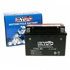Batérie KYOTO 12V 8Ah YTX9-BS (dodávané s kyselinovú náplňou)