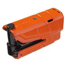 Abus zámok na kotúčovú brzdu s alarmom Granit Detecto X-Plus 8077, oranžovej