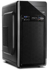 Inter-tech kućište MC-02, micro ATX, crno