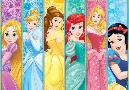 Walplus Fototapeta Disney Princezny 254x184 cm