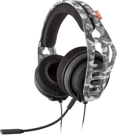 Plantronics RIG 400HS ARCTIC CAMO játék fejhallgató mikrofonnal fekete (210681-05)