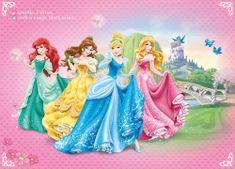 Walplus foto tapeta Disney Princesa 2, 254x184 cm
