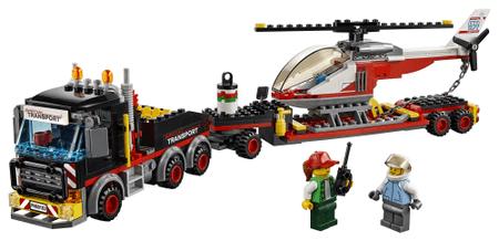 LEGO City Great Vehicles 60183 Ciągnik do transportu ciężkiego ładunku