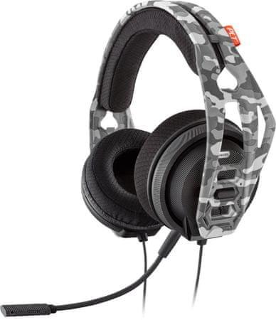 Plantronics RIG 400HX ARCTIC CAMO herní sluchátka s mikrofonem XBOX(210682-05)